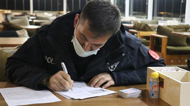 Yasak olmasına rağmen... 58 bin lira ceza kesildi