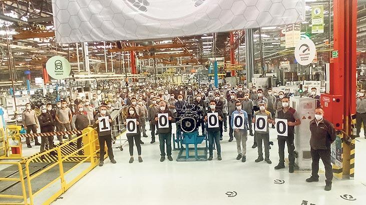 1 milyonuncu traktör gövdesi