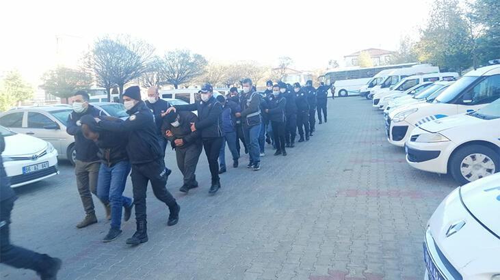 Yozgat'ta DEAŞ operasyonu: 22 gözaltı