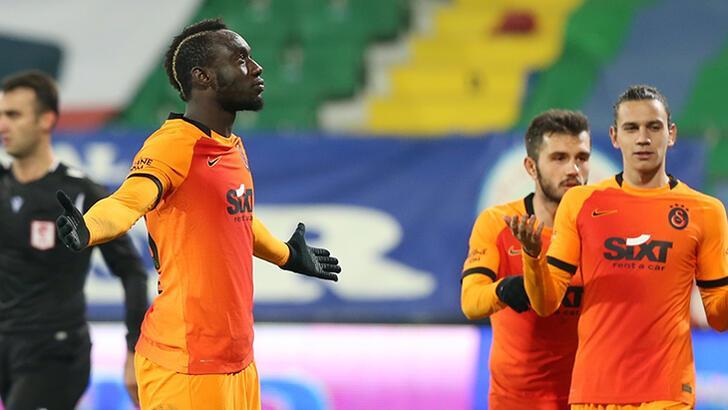 Son dakika - Galatasaray'da Diagne çılgınlığı! Hat-trick sonrası olay paylaşım...