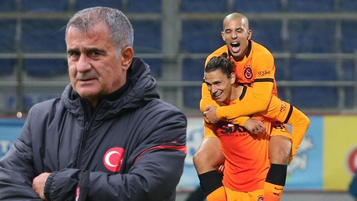 Son dakika - Galatasaray'da Sofiane Feghouli'den Şenol Güneş'e Taylan Antalyalı çağrısı!