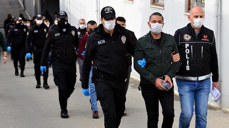 Adana'da torbacı operasyonu! 11 kişi tutuklandı