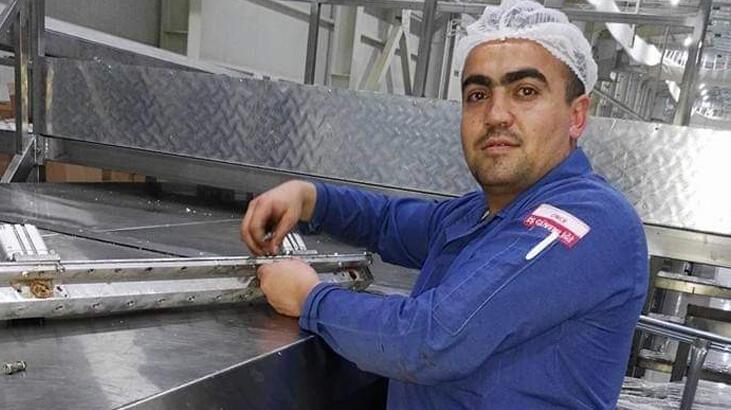Kafasını kek makinesine kaptıran işçi feci şekilde can verdi!
