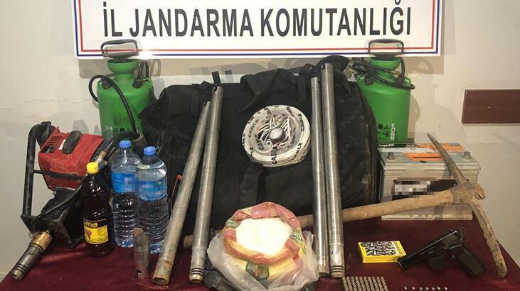 Adıyaman'da kaçak kazıya 7 gözaltı