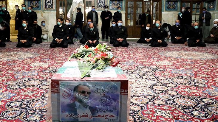 İran Fahrizade'yi uğurluyor