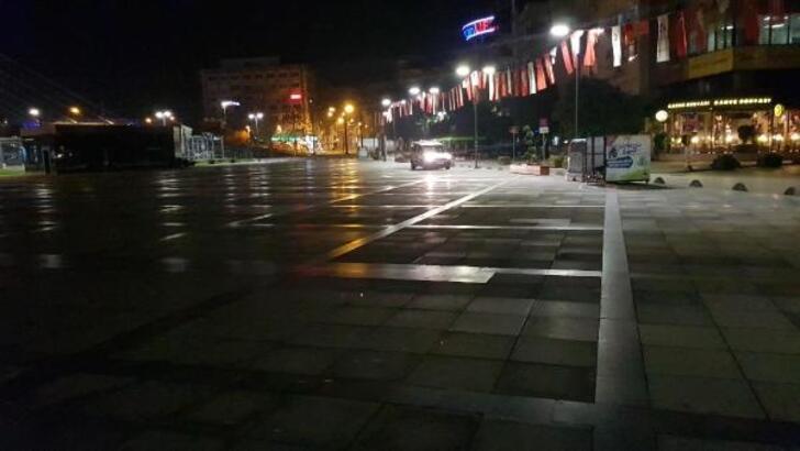 İzmit'te sokağa çıkma kısıtlaması yeniden başladı