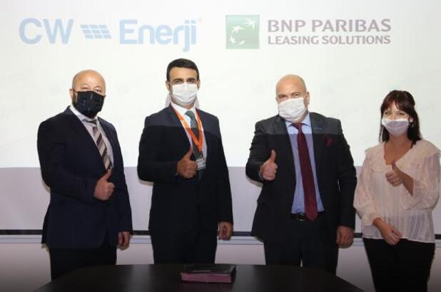CW Enerji ve BNP Paribas Finansal Kiralama arasında Çatı GES projeleri için iş birliği