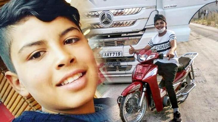 14 yaşındaki Salih, motosiklet kazasında öldü!