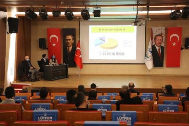 Talas'ta iş güvenliği eğitimi