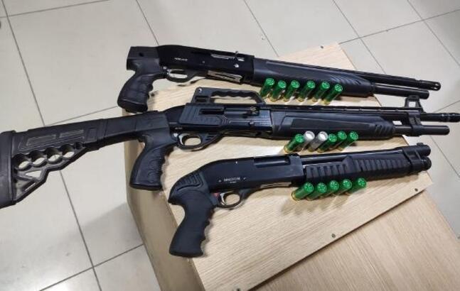 Kısıtlamada silahlı tehdit iddiasına 4 gözaltı