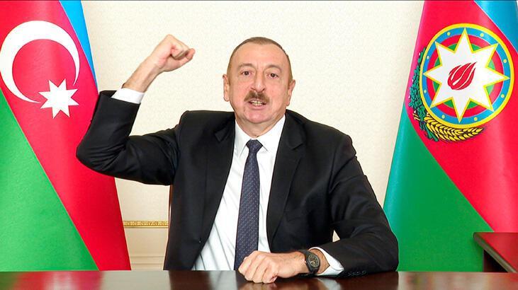 Son Dakika: Aliyev zaferi ilan etti: Herkes bu gerçekliği kabullenecek