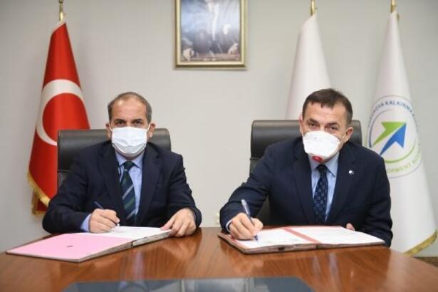 Yenişehir Belediyesi'nin iki projesine ÇKA'dan destek