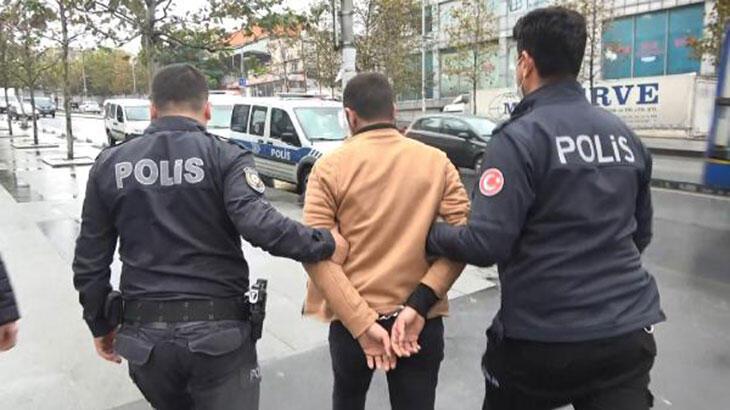 Esenyurt'ta polisten kaçan silahlı şüpheli girdiği iş yerinde yakalandı