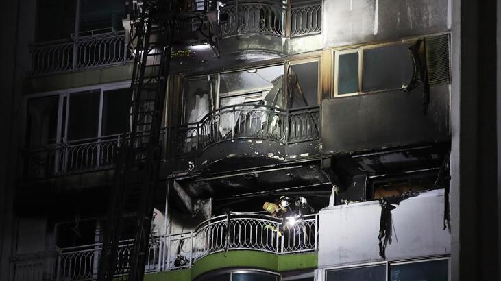Güney Kore'de gökdelende yangın faciası