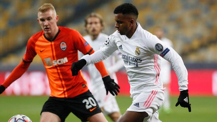 Shakhtar Donetsk-Real Madrid: 2-0