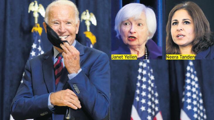 ABD başkanlığına seçilen Biden ekonomi ekibini tanıttı