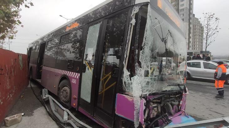 Son dakika... İstanbul'da feci kaza! İETT otobüsü, kamyon ve iki otomobil...