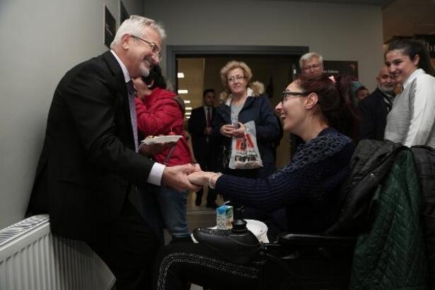 Nilüfer Belediye Başkanı Erdem: Engellileri toplumsal hayata kazandırmaya çabalıyoruz