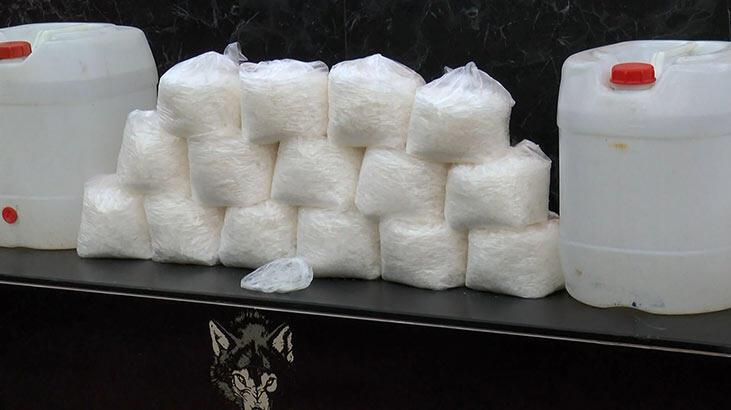 İstanbul'da operasyon! 230 kilo metamfetamin ele geçirildi