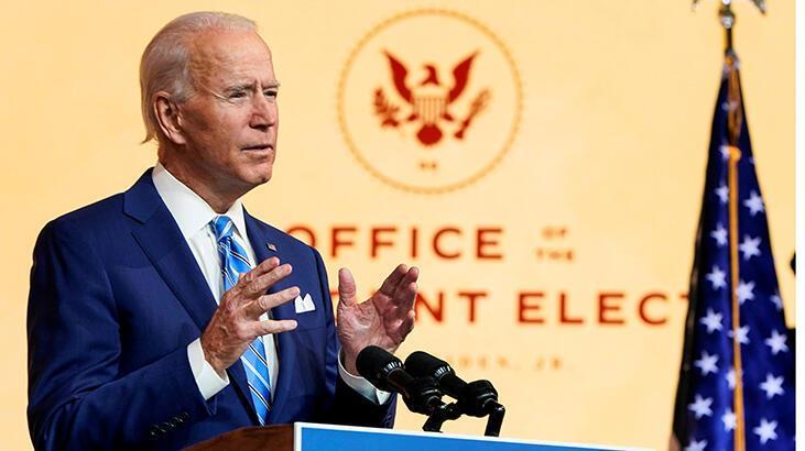 Son dakika... ABD başkanlığına seçilen Biden'dan flaş Türkiye açıklaması