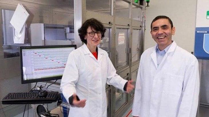 Koronavirüs aşısını bulan Türk çift manşetlerden inmiyor! 'Hikayeleri çok önemli'