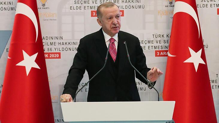 Cumhurbaşkanı Erdoğan'dan İslam Gıda Güvenliği Teşkilatı üyelerine mesaj