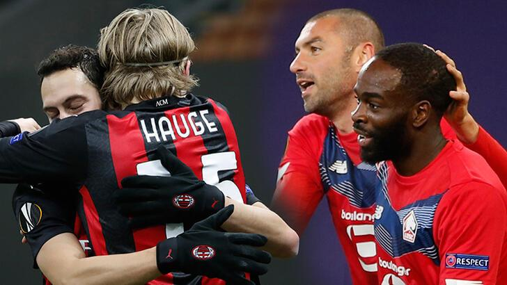 Son Dakika: Fransa'da tarihi gece! UEFA Avrupa Ligi'ne Burak Yılmaz ve Hakan Çalhanoğlu damga vurdu