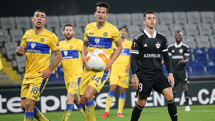 Karabağ - Maccabi Tel-Aviv: 1-1