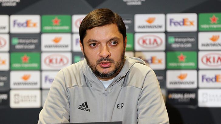 """Rahmanov: """"Oyuncularım iyi mücadele etti"""""""