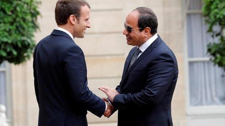 Fransa Cumhurbaşkanı Macron, Paris'te Mısır Cumhurbaşkanı Sisi ile görüşecek