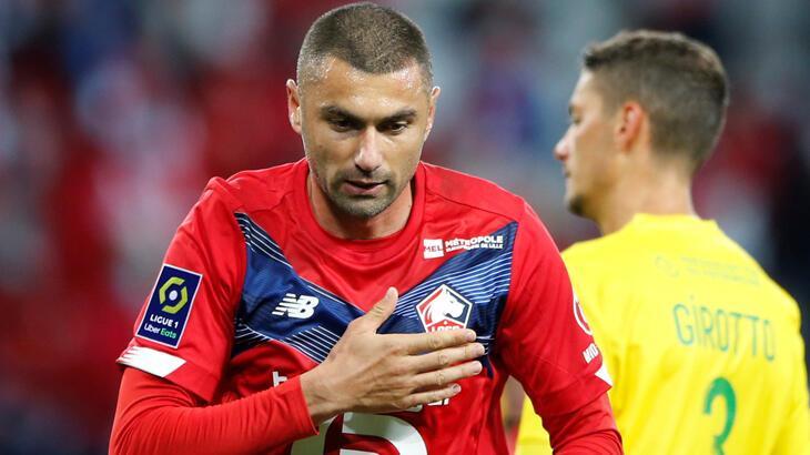 Fransız basınından Sparta Prag'a karşı 2 gol atan Burak Yılmaz'a övgüler