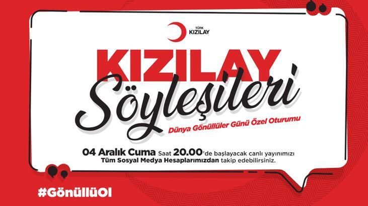 Türk Kızılayı'ndan gönüllü yayın! Saat 20.00'de başlıyor