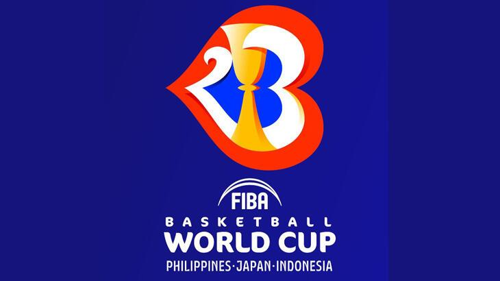 Basketbolda 2023 FIBA Dünya Kupası'nın logosu tanıtıldı