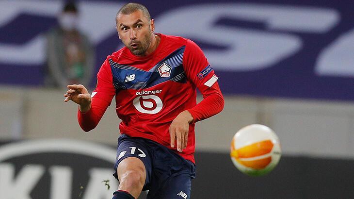 UEFA Avrupa Ligi'nde haftanın futbolcusu Burak Yılmaz