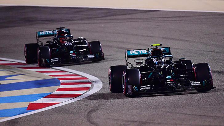F1 Sakhir Grand Prix'sinde pole pozisyonu Bottas'ın