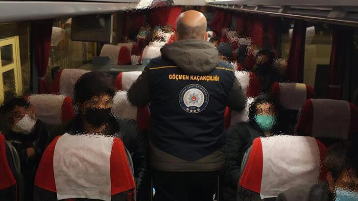 Eskişehir'de 26 sığınmacı yakalandı