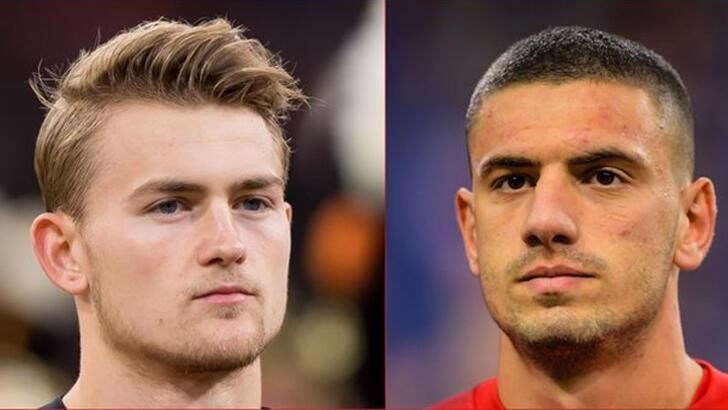 UEFA'dan olay yaratan anket! Merih Demiral ve Matthijs de Ligt...