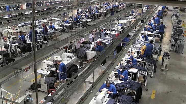 Tekstil ve ham maddeleri ihracatında artış sürüyor