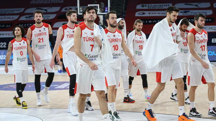 A Milli Erkek Basketbol Takımı'nın dünya sıralamasındaki yeri değişmedi