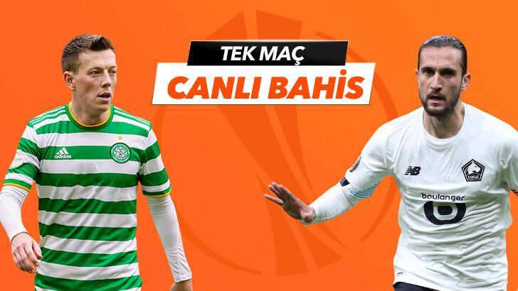 Celtic - Lille karşılaşmasında Canlı Bahis heyecanı Misli.com'da!