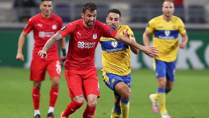 Maccabi Tel Aviv - Sivasspor: 1-0
