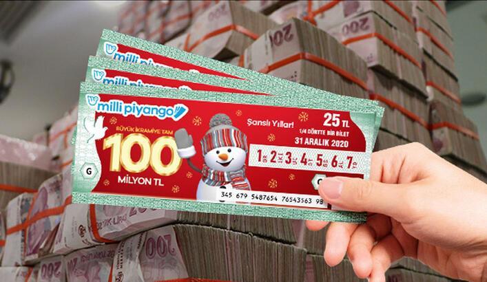 Kısıtlamada Milli Piyango yılbaşı biletinizi online alabilirsiniz! 100 milyon liraya 4 gün kaldı