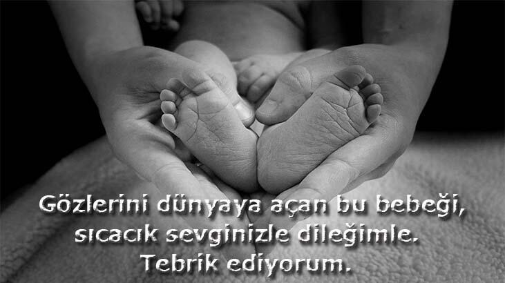 Yeni Doğan Bebek Mesajları: Yeni Doğan Bebekler İçin Tebrik Mesajları Ve Güzel Sözler