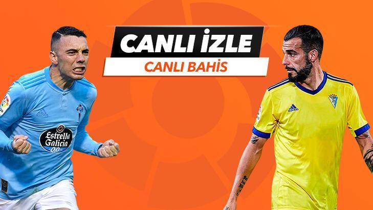 Celta Vigo - Cadiz maçı Tek Maç ve Canlı Bahis seçenekleriyle Misli.com'da