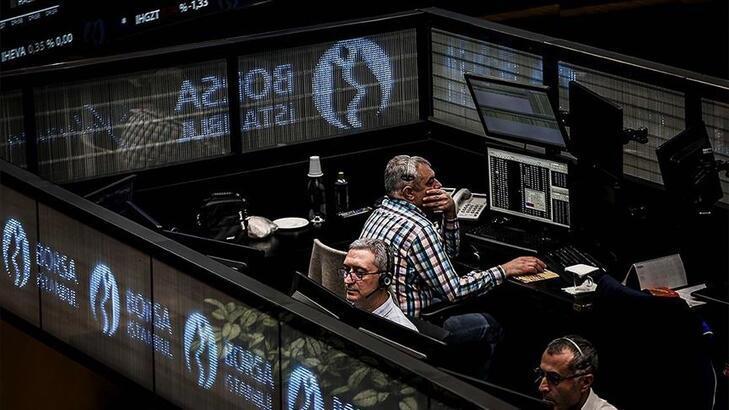 Borsa ilk yarıda rekor seviyeyi gördü