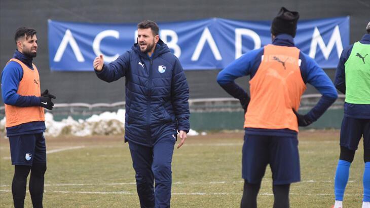 Büyükşehir Belediye Erzurumspor'da Ziraat Türkiye Kupası maçı hazırlıkları