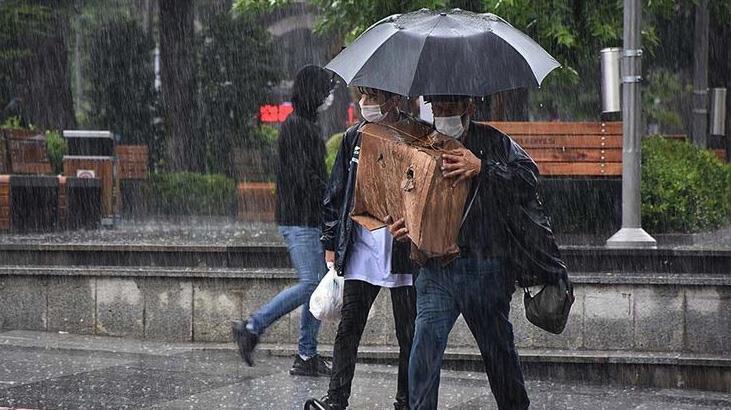 Son dakika... Meteoroloji'den 3 il için şiddetli yağış uyarısı