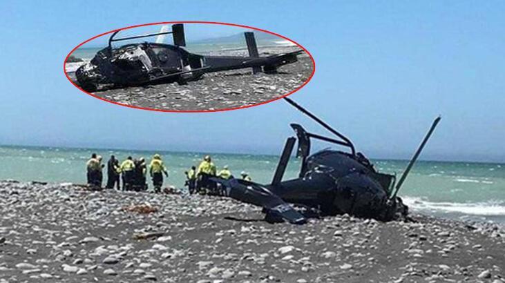 Son dakika... Yeni Zelanda'da helikopter düştü: Ölü ve yaralılar var