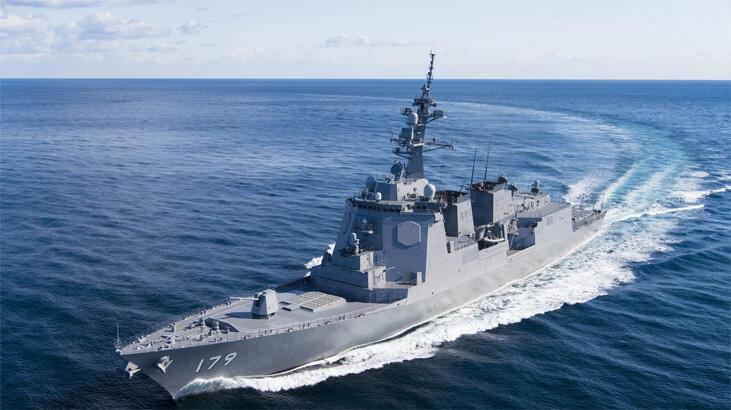 Japonya'da iki savaş gemisi Aegis füzeleriyle donatılacak