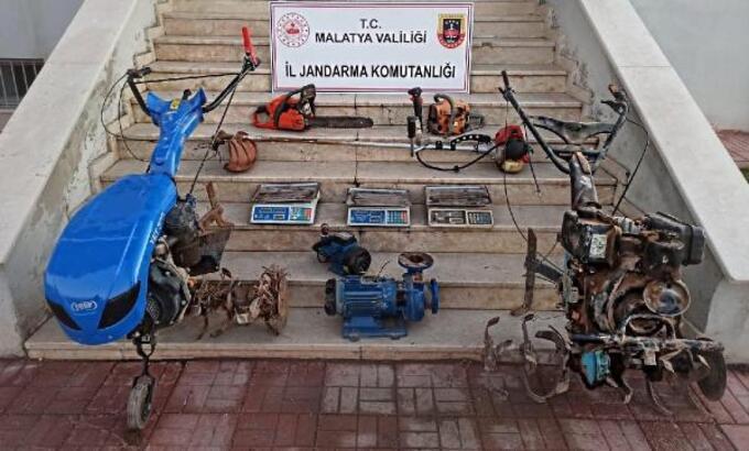 Malatya 2 hırsızlık şüphelisine gözaltı